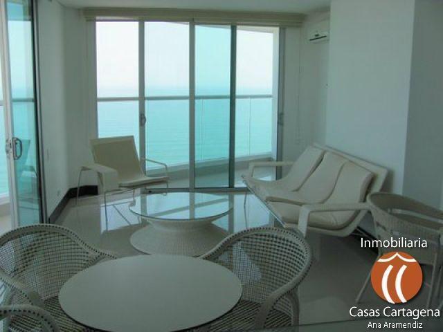 Apartamentos amoblados en arriendo en Cartagena